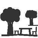 terrassa compartida / terraza compartida / Terrasse commune