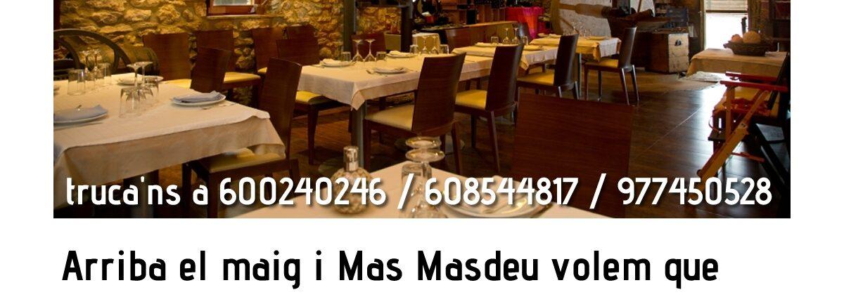 Et portem els sabros de Mas Masdeu a casa